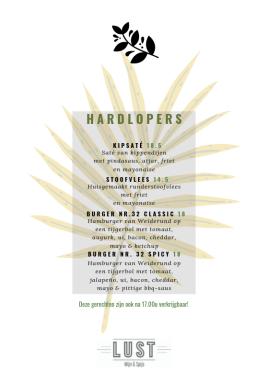 Lust-Numansdorp-Hardlopers